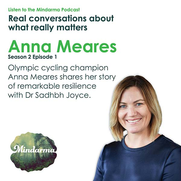 Olympic cycling champion Anna Meares shares her story of remarkable resilience.